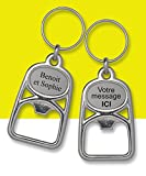 Bottle Opener Key Ring Personalised with Laser Engraving