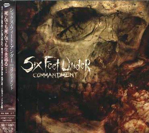CD : Six Feet Under - Commandment (Bonus Track, Japan - Import)