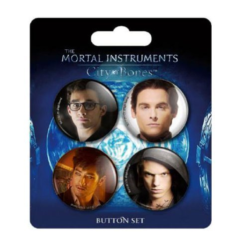 Underground Toys City of Bones Button