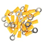 SOLOOP 20Pcs Ring Insulated Electrica...