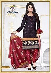 Balaji Fashion Women's cottan print suit D.NO2214_Multi-Coloured