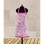 Dekor World Being A Girl Printed Apron (Pack Of 1 Pc)