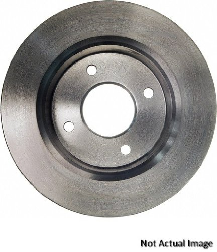Wagner BD180029 Premium Brake  Rotor, Rear wagner thermoquiet pab246r riveted brake shoe set front