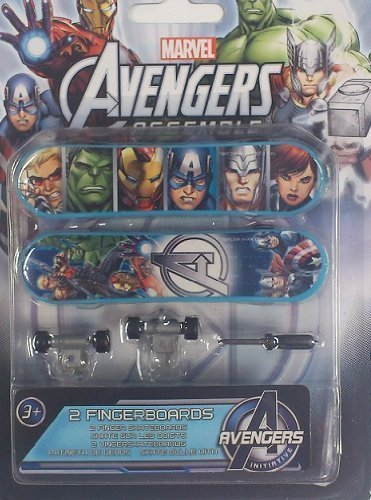 Avengers Assemble Finger Skateboards - 1