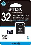 TDK microSDHCカード 32GB Class4 5年保証 SDカードアダプター付 Newニンテンドー3DS動作確認済み T-MCSDHC32GB4