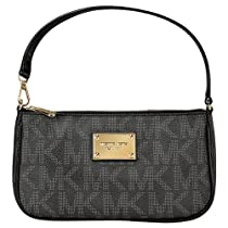 Hot Sale Michael Kors Jet Set Pouchette in Black