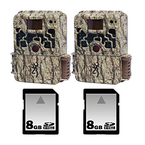 (2) Browning Strike Force Trail Cameras With 8Gb Sd Memory Cards