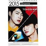 東方神起 ユンホ チャンミン 2015年、2016年 卓上カレンダー +ユノのミニポストカード 330