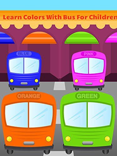 Learn Colors With Bus For Children