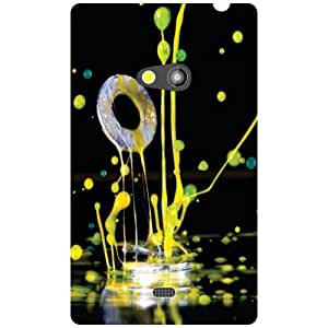 Nokia Lumia 625 Phone Cover - Sprinkle Of Joy Matte Finish Phone Cover