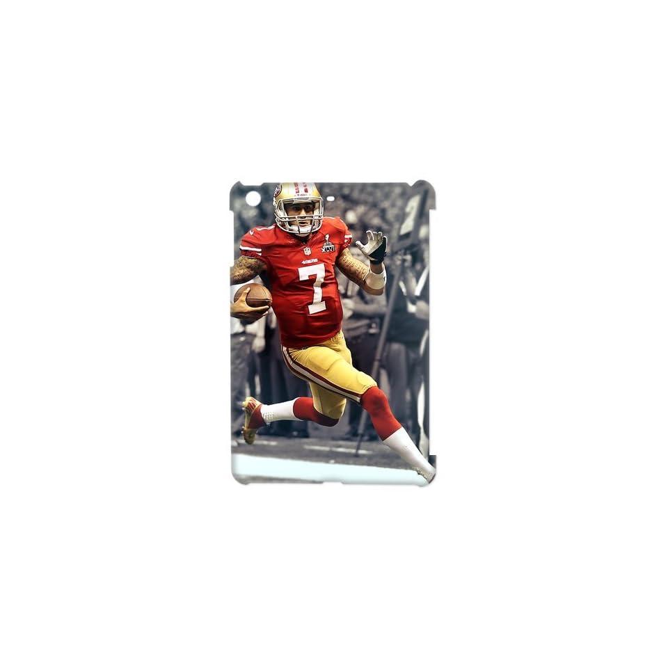 NFL San Francisco 49ers Colin Kaepernick Ipad mini Case Cover Slim fit Hard Cover Case for Apple New Ipad mini 2013 Version