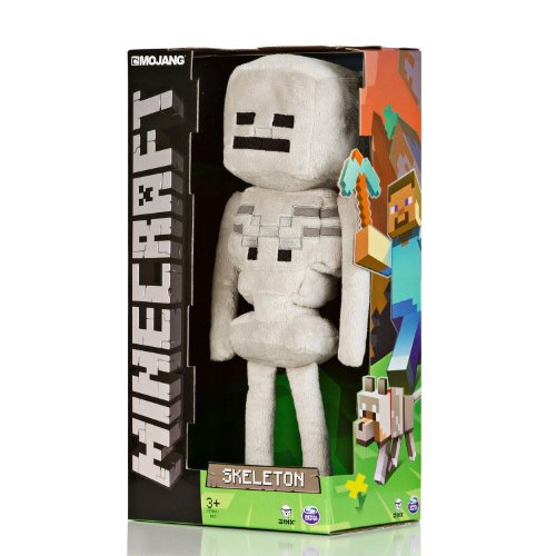 Official Minecraft Skeleton 13″ Plush Toy Figure