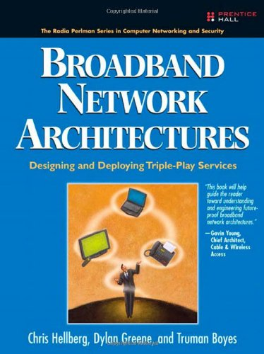 Broadband Network Architectures: Designing and Deploying Triple-Play Services