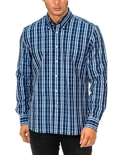 Mc Gregor Camisa Hombre Azul / Cielo / Blanco
