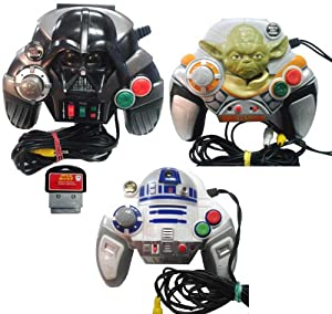 Star Wars Plug & Play Video Game Collection - Darth Vader / Yoda / R2D2