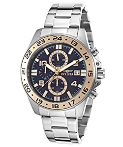 Invicta Men's 16023 Pro Diver Analog Display Japanese Quartz Silver Watch
