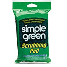 Simple Green 10046 Scrubbing Pads (4 Clips of 6)