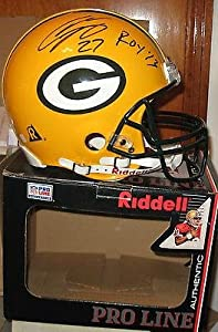 Eddy Lacy Green Bay Packers Signed Full Size Riddell Helmet Coa Autographed -... by Sports Memorabilia
