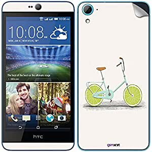 GsmKart HD826 Mobile Skin for HTC Desire 826 (Green, Desire 826-801)