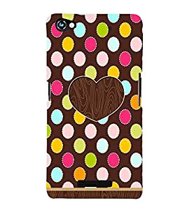 Love Wooden Windows Cute Fashion 3D Hard Polycarbonate Designer Back Case Cover for Micromax CanvasHue2A316