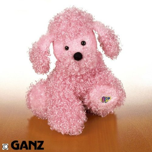 Webkinz Pink Poodle with Trading Cards - 1