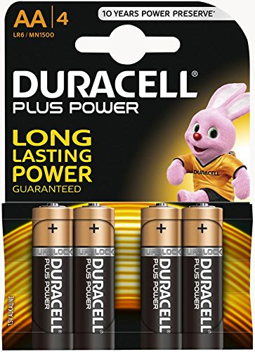 Duracell Plus Power, batterie, AA, Duralock 5000394017641