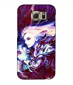 Crazymonk Premium Digital Printed 3D Back Cover For Samsung Galaxy Note 6