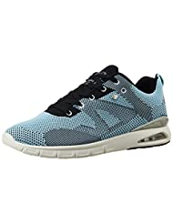 British Knights Men's Demon Light Blue And Black Sneakers