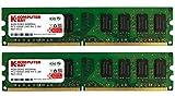 Komputerbay  8GBメモリ  2枚組  4GBX2   DUAL  デスクトップパソコン用 増設メモリ  DDR2   PC2-6400 800MHz   240pin DIMM