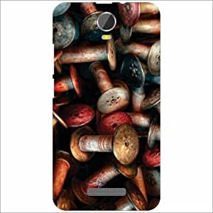 Micromax Canvas Juice 2 Back Cover - Silicon Abstract Designer Cases