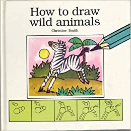 how to draw wild animals book