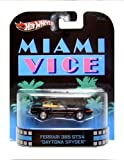 Hot Wheels Retro Entertainment Series - Miami Vice Ferrari 365 GTS4 Daytona Spider Car