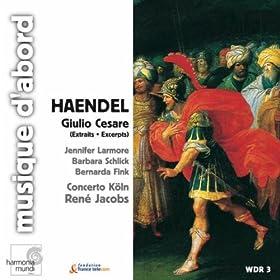 """Giulio Cesare, HWV 17: Act II, Scene 9, """"Belle dee"""""""