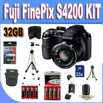 Fujifilm FinePix S4500 Digital Camera (Black)