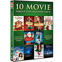 Family Fun Holiday Collection Movie 10 Pack