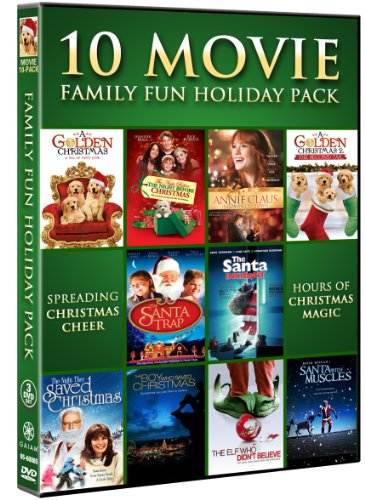 51l2w8K7a9L Family Fun Holiday Collection Movie 10 Pack