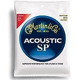 Martin MSP3100 SP 80/20 Bronze Acoustic Guitar Strings, Light