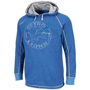 Detroit Lions Majestic NFL Team Spotlight II Lightweight Thermal Sweatshirt by VF