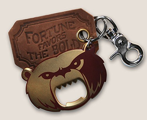Trixie & Milo - The Gentleman's Bottle Opener & Key Ring (Grizzly Bear) (Bottle Opener Keychain Bear compare prices)