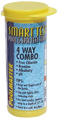 Poolmaster 22211 Smart Test 4-Way Pool and Spa Test Strips - 50ct (Spa Water Testing compare prices)