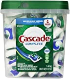 Cascade Complete All-in-1 Actionpacs Dishwasher Detergent, Fresh Scent, 80 Count