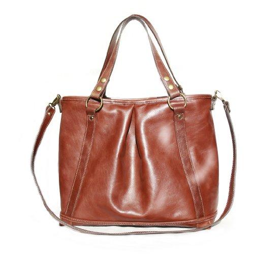 Mia Bossi Lyndsey Diaper Bag, Chocolate