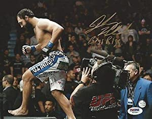 Johny Hendricks Signed UFC 8x10 Photo COA Picture Autograph 171 167 158 - PSA/DNA Certified - Autographed UFC Photos
