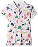 #7: United Colors of Benetton Baby Girls' Polo (16A3089C0153I1011Y_White_1Y)