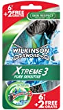 Wilkinson Xtreme 3 Pure Sensitive 8 Rasoirs Jetables