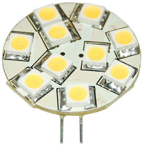 Eaglelight G4 Led Bulb, 10 Smd5050 Leds, Side Pin Color: Natural White