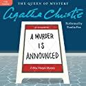 A Murder Is Announced: A Miss Marple Mystery Audiobook by Agatha Christie Narrated by Emilia Fox