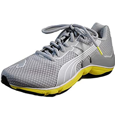 Puma - Womens Mobium Runner Elite Shoes, Size: 6.5 B(M) US, Color: High Rise-Puma Silve