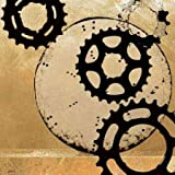 Sprockets II by NOAH- Fine Art Print on CANVAS : 53 x 53 Inches