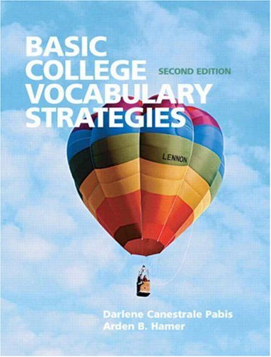 Basic College Vocabulary Strategies (2nd Edition)